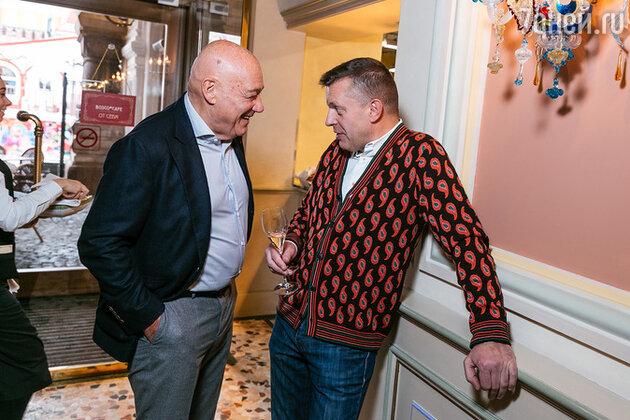 Владимир Познер и Леонид Парфенов
