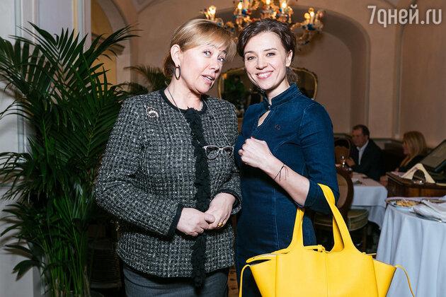 Арина Шарапова и Ксения Алферова