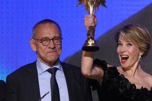 Юлия Высоцкая и Андрей Кончаловский получили сразу три «Ники»