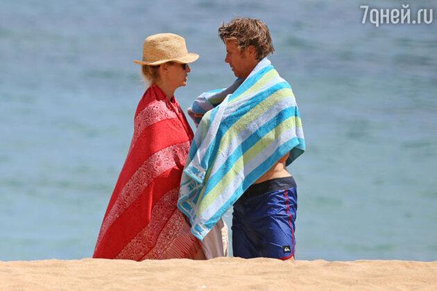 Джулия Робертс с мужем Дэнни Модером