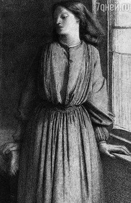 Россетти давал Элизабет уроки живописи, порой они сидели бок о бок и творили вместе
