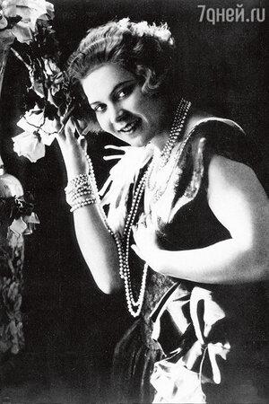 Клавдия Шульженко. 1930-е годы