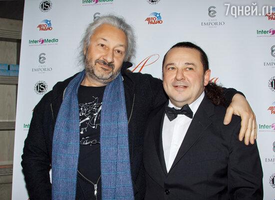 Стас Намин и  Игорь Саруханов