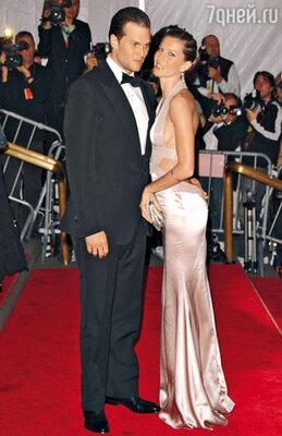 Жизель Бундхен и ее муж Том Брэди