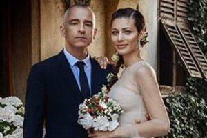 Эрос Рамазотти устроил роскошную свадьбу с молодой возлюбленной