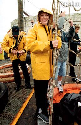 Во время съемок программы «Форд Боярд» воФранции. 2002 г.
