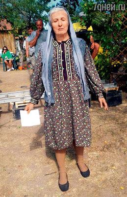 В роли прорицательницы Ванги в телевизионном сериале «Вангелия». 2013 г.
