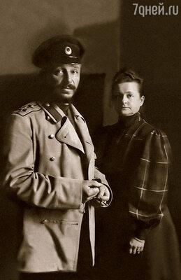 Верным помощником Альберто Кавоса стал архитектор Николай Бенуа, муж его дочери Камиллы. На фото: Бенуа с женой