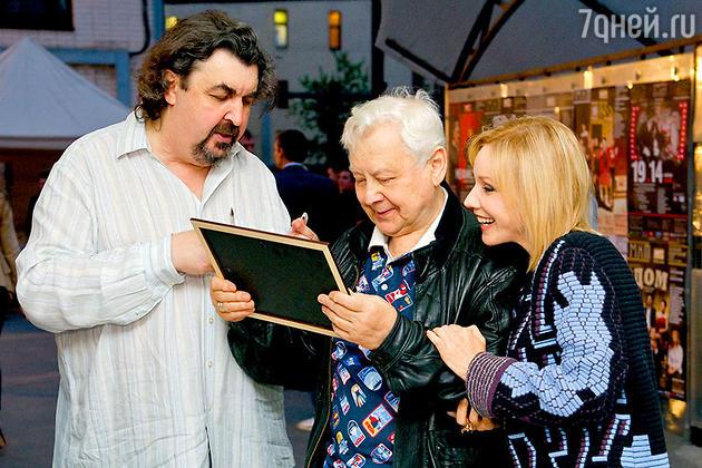 Игорь Золотовицкий, Олег Табаков и Марина Зудина