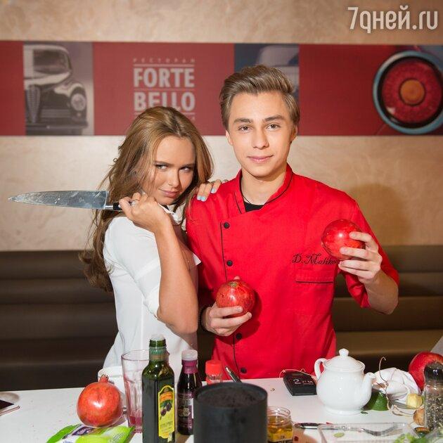 Дима Маликов-младший, Стефания Маликова