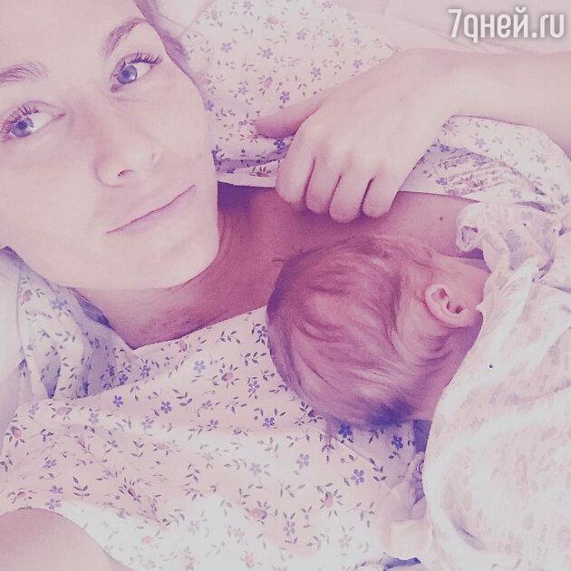 Катя Гордон с сыном Леоном