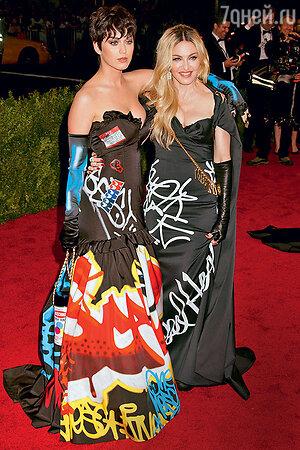 Мадонна и Кэти Перри