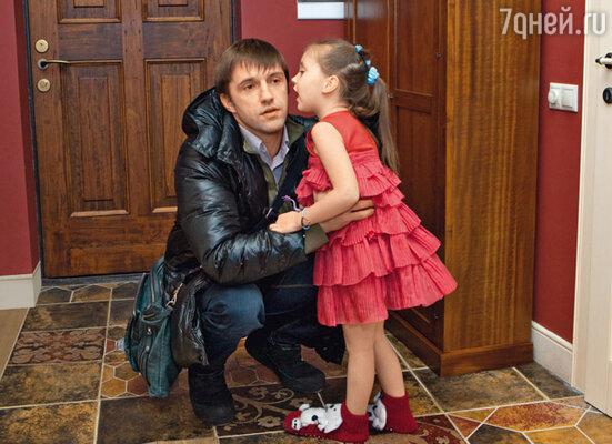 Владимир с дочерью Вероникой