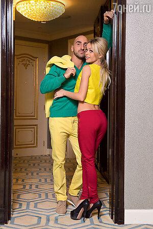 Анна Хилькевич с бойфрендом Артуром