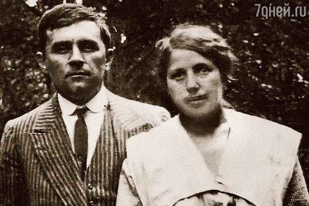 Казимир Малевич с Соней, своей второй женой