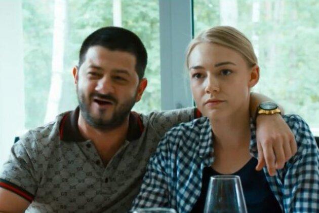 Оксана Акиньшина и Михаил Галустян