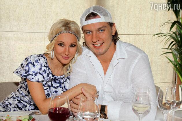 Лера Кудрявцева с супругом Игорем Макаровым. 2013 год