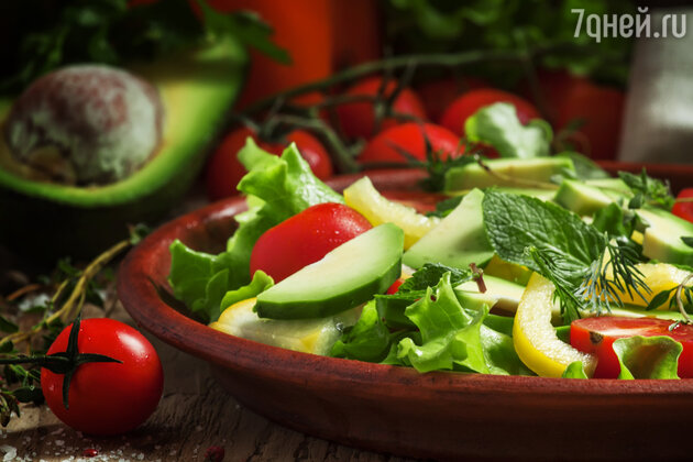 Легкий овощной салат от телеведущей Авроры