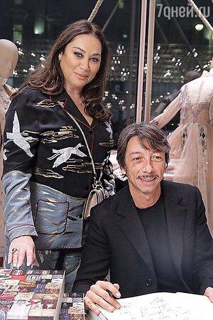 Алла Вербер и креативный директор Valentino Пьерпаоло Пиччоли