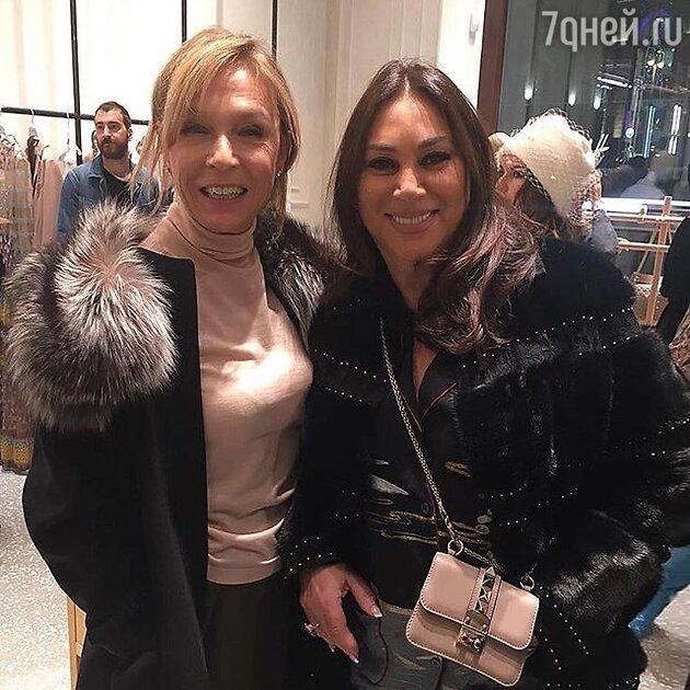 Алла Вербер и Алена Долецкая