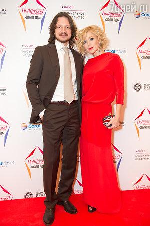 Ирина Гринева и ее муж Максим Шабалин