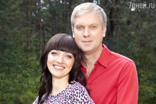 Сергей Светлаков с женой