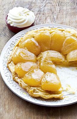 Французский пирог из яблок