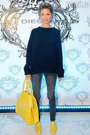 Виктория Боня на показе модной коллекции «DIEGO M»