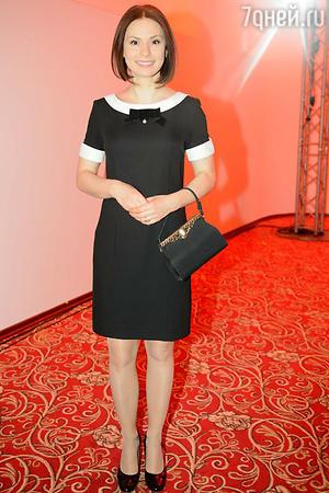 Ирина Лачина на показе модной коллекции «DIEGO M»