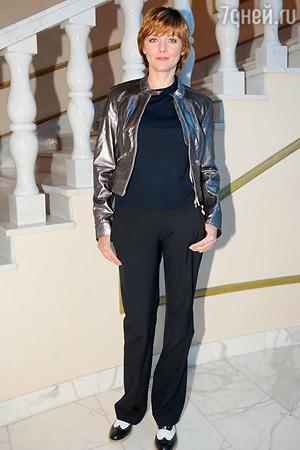 Дарья Повереннова на показе модной коллекции «DIEGO M»