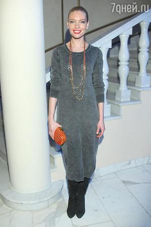 Антонина Клименко на показе модной коллекции «DIEGO M»