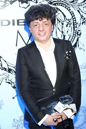 Армен Ерицян на показе модной коллекции «DIEGO M»