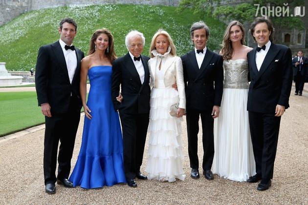 Гости благотворительного обеда The Royal Marsden Cancer Charity в замке Виндзор