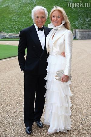Ральф Лорен с супругой