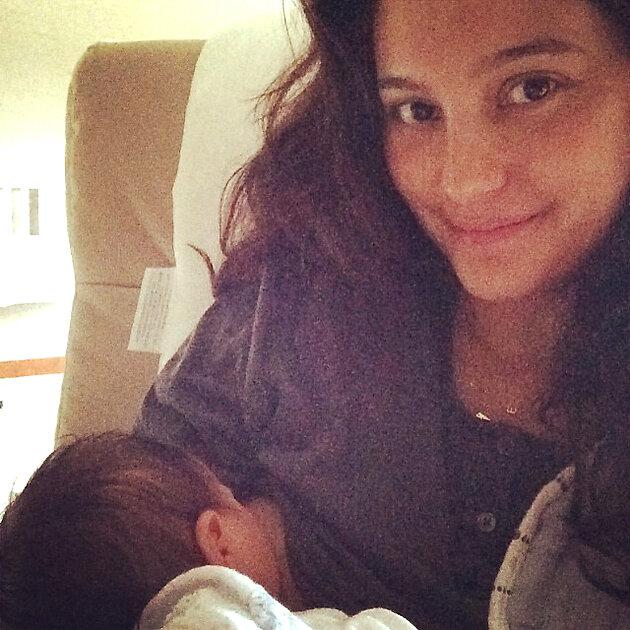 Эмма Хеминг с дочкой