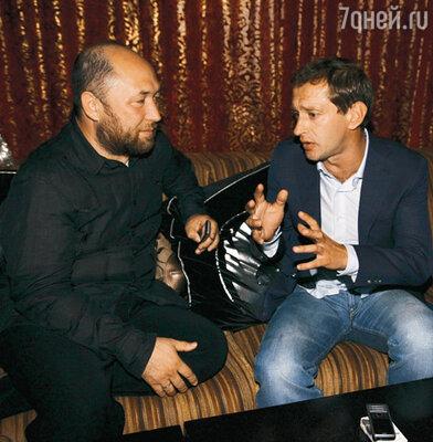 Тимур Бекмамбетов и Константин Хабенский