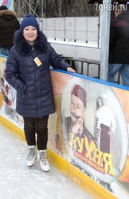 Актриса сериала «Кухня» Жанныл Асанбекова