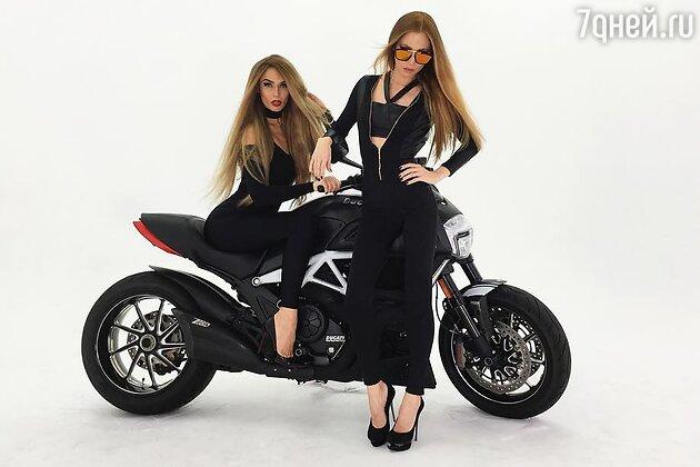 Алена Водонаева и Ангелина Лаво