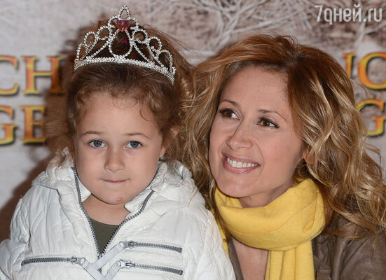 Лара Фабиан с дочерью Луизой
