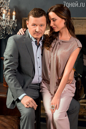 Олег Фомин с женой Татьяной