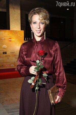 Яна Чурикова на премьере шоу «Zarkana» в 2012 году