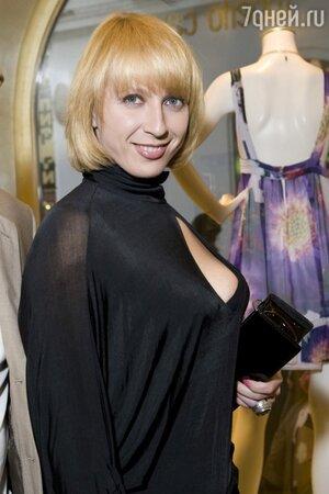 Яна Чурикова на вечеринке Roberto Cavalli в 2008 году