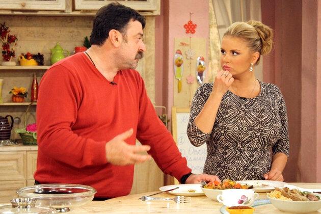 Анна Семенович и Михаил Плотников