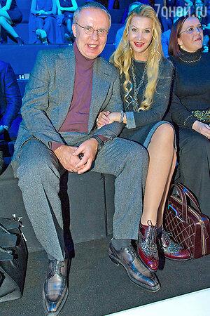Вячеслав Фетисов с супругой