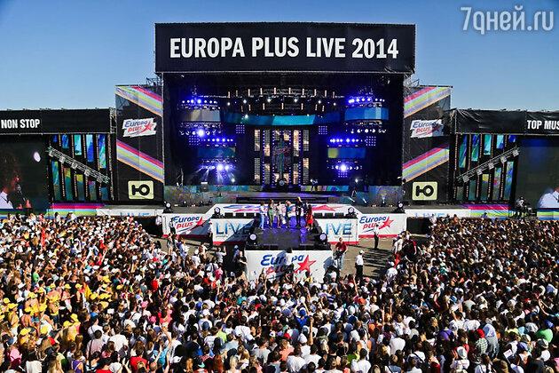 26 июля в Москве состоялся грандиозный опен-эйр Europa Plus LIVE 2014