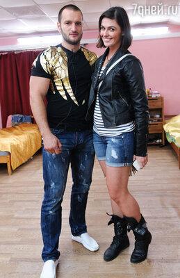 Алексей Самсонов и корреспондент проекта «7days.ru» Галина Крючкова