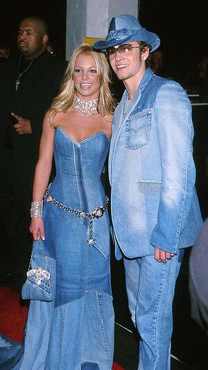 Бритни Спирс и Джастин Тимберлейк. 2001 г.