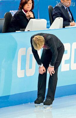 На разминке перед короткой программой евгений Плющенко понял, что не сможет дальше выступать
