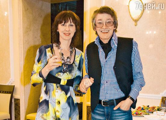 Игорь Старыгин и его жена Екатерина