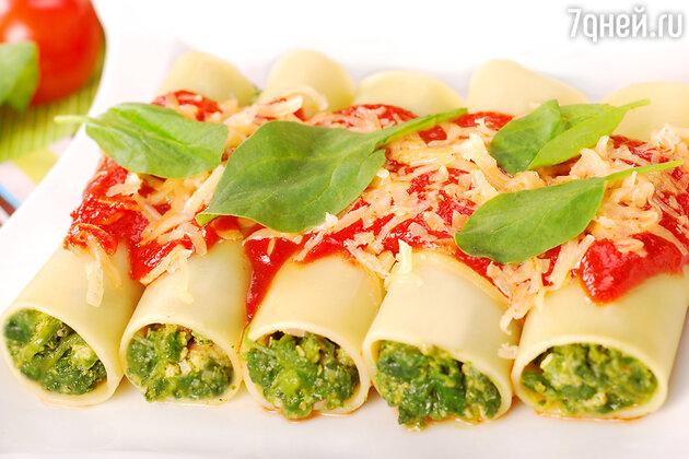 Блюда со шпинатом
